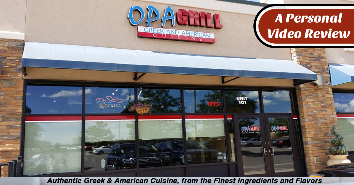 Opa Grill: Video Review